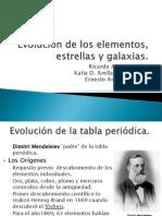 Clase 1 - Evolución de los elementos, estrellas y galaxias