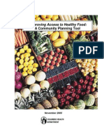 Improving Access to Healthy Food