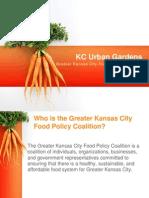 Kansas City Urban Gardens