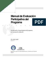 Manual de evaluación participativa del programa involucrando a los participantes del programa en el proceso de evaluación