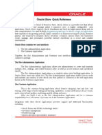 Oracle iStore  Quick Referrence-1.doc