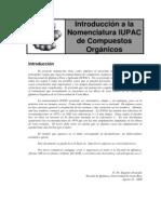 Introduccion a la Nomenclatura IUPAC de Compuestos Organicos