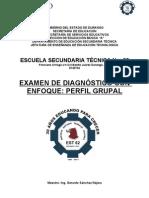 Examen de Diagnóstico con enfoque de Perfil Grupal