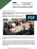 Relatório da audiência realizada no INSS 18-10-2011