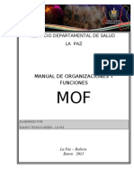 Manual de Organizacion yFunciones 2011