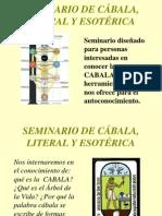 A. Invitacion Seminario Cabala Pp