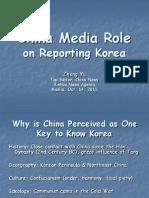 Yu Zheng - Chinese media's roles in reporting on Korea - Manila 14 Oct 2011