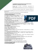 Especificaciones de TDT