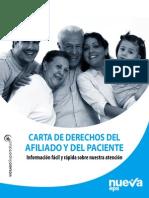 Nueva Eps-carta de Derechos Del Afiliado y Del Paciente