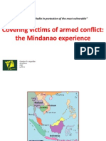 Carolyn Arguillas - Covering armed conflict