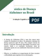 Diagnóstico de Doença Alzheimer no Brasil