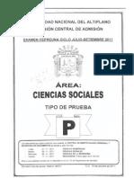 69048976 Examen Cepreuna Puno Octubre 2011