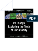 Is Christianity True