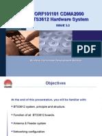 ORF101101 CDMA2000 BTS3612 Hardware System ISSUE3.2