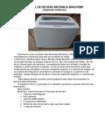 Curso Mecanica Lavadoras Brastemp Eletronica Com Fotos Bwt08a