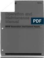 Caterpillar Operation and Maintenance Manual SR4B Generators