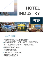 Taj Hotel - service marketing