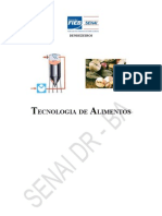 Apostila - Tecnologia de Alimentos