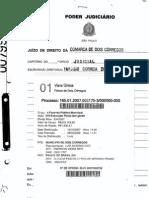 Execução Fiscal PM Dois Córregos vs. Banco do Brasil