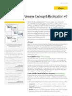 Veeam Backup 5 0 Whats New