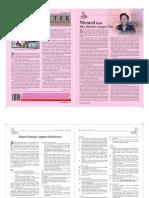 Newsletter Agustus 2011