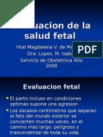 Evaluacion de la salud fetal en el parto