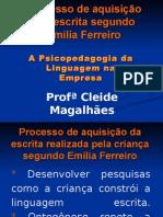Processo de aquisição pela escrita segundo Emília Ferreiro