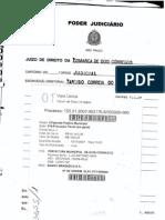 Execução Fiscal PM Dois Córregos vs Bradesco