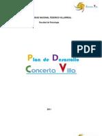 Plan de Desarrollo Concerta Villa
