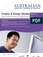 Diploma of Printing and Graphics Arts (Digital Production)