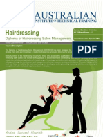 Diploma of Hairdressing Salon Management