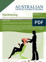 Diploma of Hairdressing Salon Management