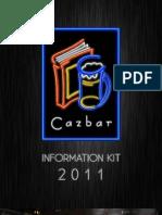 Cazbar's media kit