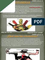 vitaminas trabjo