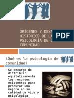 Orígenes y desarrollo histórico de la psicología de la comunidad