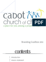 Cabot Church of Christ Branding Guideline
