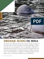 Drenaje Acido de Una Mina