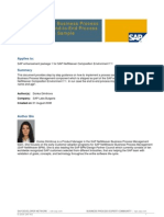 SAP NetWeaver BPM- End-To End Process Implementation