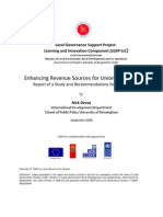 Enhancing Revenue Sources for Union Parishads