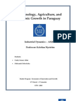 Biotechnology, Agriculture and Economic Growth in Paraguay