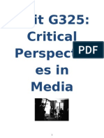 Unit G325- Section a (Practical Reflection) Student Guide