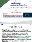 Comp Let Area Unei Cereri de Fin on-line_ActionWeb