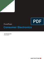 2010 Consumer Electronics Marktanalyse Trend Topic de Springer