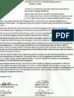 Medical Bulletin on ex-PGMA (10/19/11)
