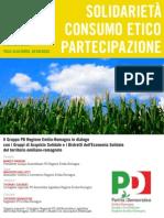 29.10.11 Solidarietà Consumo etico Partecipazione