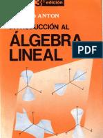 65434683 Introduccion Al Algebra Lineal Howard Anton
