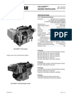 Cat C32 ACERT Spec Sheet - Commercial