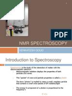 NMR Spectroscopy by Venkatesh
