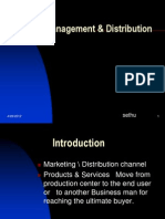 Channel Management & Distribution