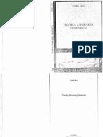 Teoria Literaria Feminista Toril Moi